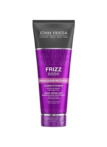 John Frieda Frizz Ease Miraculous Recovery Conditioner 250 Ml - Mucizevi İyileşme Bakım Kremi Renksiz